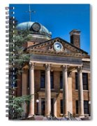 Athens Alabama Historical Courthouse Spiral Notebook