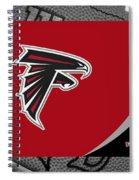Atlanta Falcons Spiral Notebook
