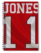 Atlanta Falcons Julio Jones Spiral Notebook
