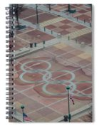 Atlanta Olympia Fountain Spiral Notebook