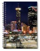 Atlanta Panoramic View Spiral Notebook