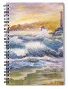 Atlantic Agitation Spiral Notebook