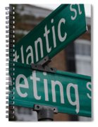 Atlantic And Meeting St Spiral Notebook