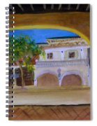 Atlantic Ave From The Shade Of Hands Spiral Notebook