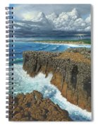Atlantic Breakers Pontal Portugal Spiral Notebook