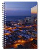 Atlantic City At Dawn Spiral Notebook