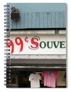 Atlantic City New Jersey - Souvenir Store Spiral Notebook