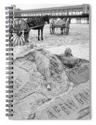 Atlantic City The Sandman Spiral Notebook
