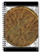 Atlantic Codfish And Jigger - Brass Etching Spiral Notebook