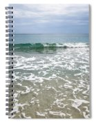 Atlantic Ocean Surf Spiral Notebook