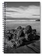 Downhill - Atlantic Rocks Spiral Notebook
