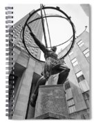 Atlas Of New York City Spiral Notebook