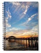 Atmospheric Spiral Notebook