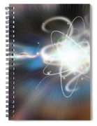 Atom Collision Spiral Notebook