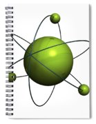 Atom Structure Spiral Notebook