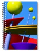 Atomic Dream Spiral Notebook