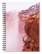 Atop Canyonlands Spiral Notebook