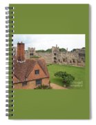 Atop The Castle Wall Spiral Notebook
