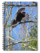 Attack Of The Turkey Vulture Spiral Notebook