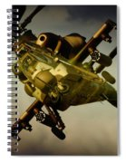 Attacking Rooivalk Spiral Notebook