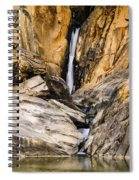 Attagar Falls In Western Ghats Spiral Notebook