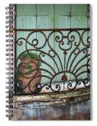 Au Balcon Spiral Notebook