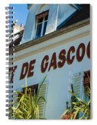 Au Cadet De Gascogne Spiral Notebook