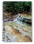 Au Train Falls II Spiral Notebook