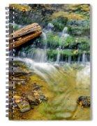 Au Train Falls Iv Spiral Notebook