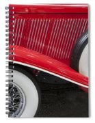 Auburn 12-161 Coupe Spiral Notebook
