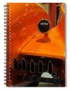 Auburn Rear End Spiral Notebook
