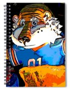 Auburn Tiger Spiral Notebook