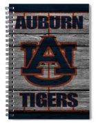 Auburn Tigers Spiral Notebook
