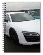 Audi R8 V10 Spiral Notebook