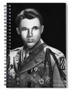 Audie Murphy Spiral Notebook