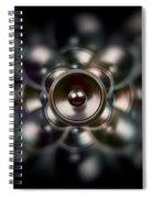 Audio Dark Spiral Notebook