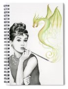 Audrey And Her Magic Dragon Spiral Notebook