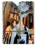 Audrey And Whoopie Spiral Notebook