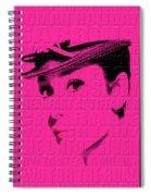 Audrey Hepburn 4 Spiral Notebook