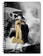 Audrey Hepburn 7 Spiral Notebook