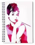 Audrey Pop Art Spiral Notebook