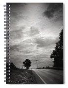 Auf Dem Heimweg Spiral Notebook