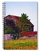 August Afternoon Spiral Notebook