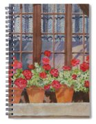 August At The Auberge  Spiral Notebook