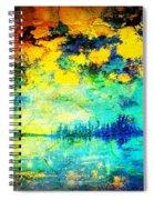 August Evening Spiral Notebook