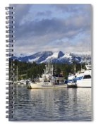 Auke Bay Harbor Spiral Notebook