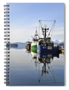 Auke Bay Reflection Spiral Notebook