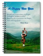 Auld Lang Syne Spiral Notebook
