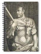 Aullus Vitellius Emperor Of Rome Spiral Notebook