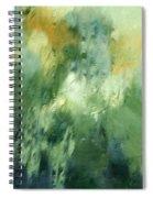 Aurora Borealis Abstract Spiral Notebook